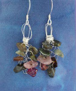 tourmaline_knitted_earrings